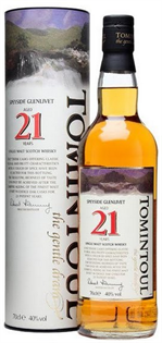 Tomintoul Scotch Single Malt 21 Year 750ml